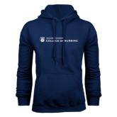 Navy Fleece Hoodie-College of Nursing