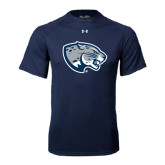 Under Armour Navy Tech Tee-Jaguar Head