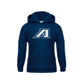 Youth Navy Fleece Hoodie-Victory A