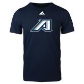 Adidas Navy Logo T Shirt-Victory A