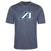 Performance Navy Heather Contender Tee-Victory A