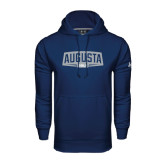 Under Armour Navy Performance Sweats Team Hoodie-Golf