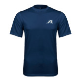 Syntrel Performance Navy Tee-Victory A