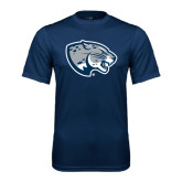 Performance Navy Tee-Jaguar Head