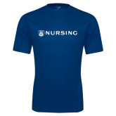 Performance Navy Tee-Nursing
