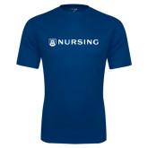 Syntrel Performance Navy Tee-Nursing