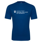 Performance Navy Tee-Dental College of Georgia