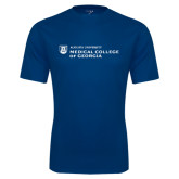 Performance Navy Tee-Medical College of Georgia