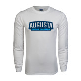 White Long Sleeve T Shirt-Cross Country