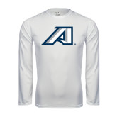 Performance White Longsleeve Shirt-Victory A