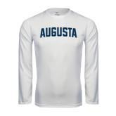 Syntrel Performance White Longsleeve Shirt-Augusta