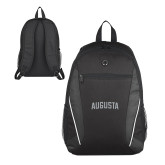 Atlas Black Computer Backpack-Augusta