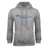 Grey Fleece Hoodie-Dental College of Georgia