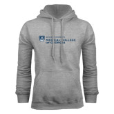 Grey Fleece Hood-Medical College of Georgia