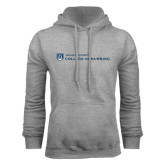 Grey Fleece Hoodie-College of Nursing