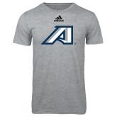 Adidas Sport Grey Logo T Shirt-Victory A