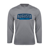 Performance Steel Longsleeve Shirt-Track and Field