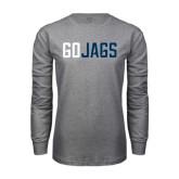 Grey Long Sleeve T Shirt-Go Jags