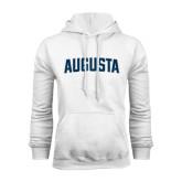 White Fleece Hoodie-Augusta