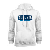 White Fleece Hoodie-Cheerleading
