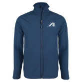 Navy Softshell Jacket-Victory A
