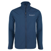 Navy Softshell Jacket-Dental College of Georgia