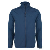 Navy Softshell Jacket-College of Nursing