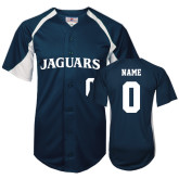 Replica Navy Adult Baseball Jersey-Personalized