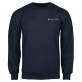 Navy Fleece Crew-College of Nursing