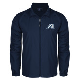 Full Zip Navy Wind Jacket-Victory A