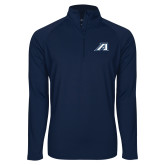 Sport Wick Stretch Navy 1/2 Zip Pullover-Victory A