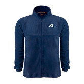 Fleece Full Zip Navy Jacket-Victory A