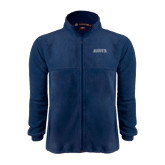 Fleece Full Zip Navy Jacket-Augusta