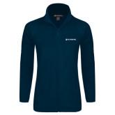 Ladies Fleece Full Zip Navy Jacket-Nursing