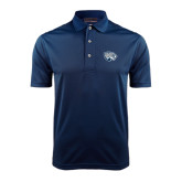 Navy Dry Mesh Polo-Jaguar Head