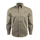 Red House Tan Long Sleeve Shirt-Victory A