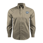 Red House Tan Long Sleeve Shirt-Jaguar Head