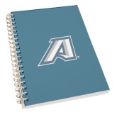Clear 7 x 10 Spiral Journal Notebook-Victory A