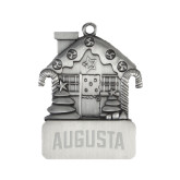 Pewter House Ornament-Augusta Engraved