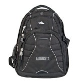 High Sierra Swerve Black Compu Backpack-Augusta