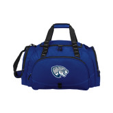 Challenger Team Navy Sport Bag-Jaguar Head