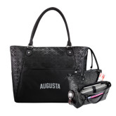 Sophia Checkpoint Friendly Black Compu Tote-Augusta