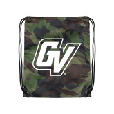 Camo Drawstring Backpack-GV