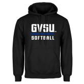 Black Fleece Hoodie-GVSU Softball