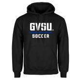 Black Fleece Hoodie-GVSU Soccer