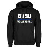 Black Fleece Hoodie-GVSU Volleyball