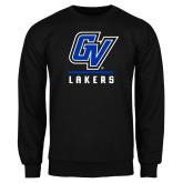Black Fleece Crew-GV Lakers Stacked