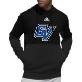 Adidas Black Team Issue Hoodie-GV
