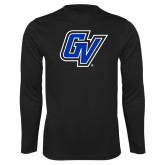 Performance Black Longsleeve Shirt-GV