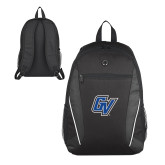 Atlas Black Computer Backpack-GV